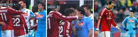 UTVISAD Dom gällande det röda kort Zlatan Ibrahimovic drog på sig mot Napoli kommer på torsdag.