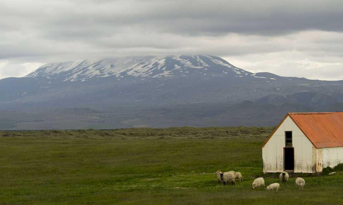 Vulkanen Hekla.