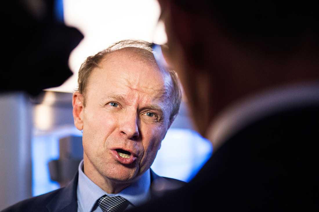 Mikael Oscarsson, försvarspolitisk talesperson för Kristdemokraterna.