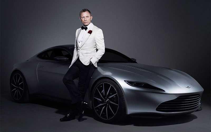 """Senaste Bond-filmen """"Spectre"""" med Daniel Craig."""