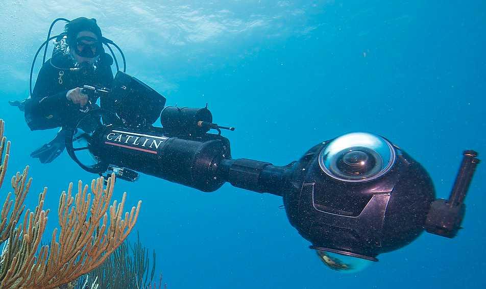 Undervattensdrönaren XL Catlin används av försäkringsbolag för att kunna förutspå klimatförändringar.