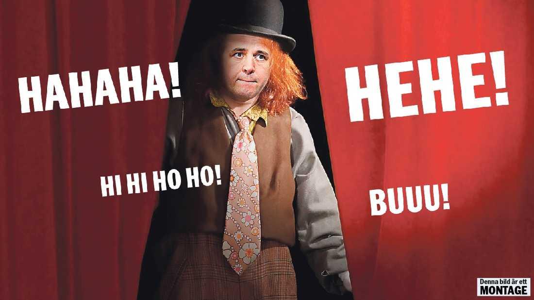 RENA RAMA CIRKUSEN  Har Moderaterna blivit ett parti som gått från att vara statsbärande till skrattretande? Ytterst ansvarig för alla clownerierna från Moderaterna är självfallet Fredrik Reinfeldt.