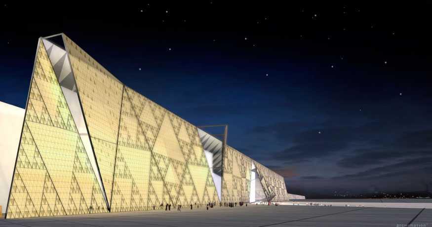 Grand Egyptian Museum.