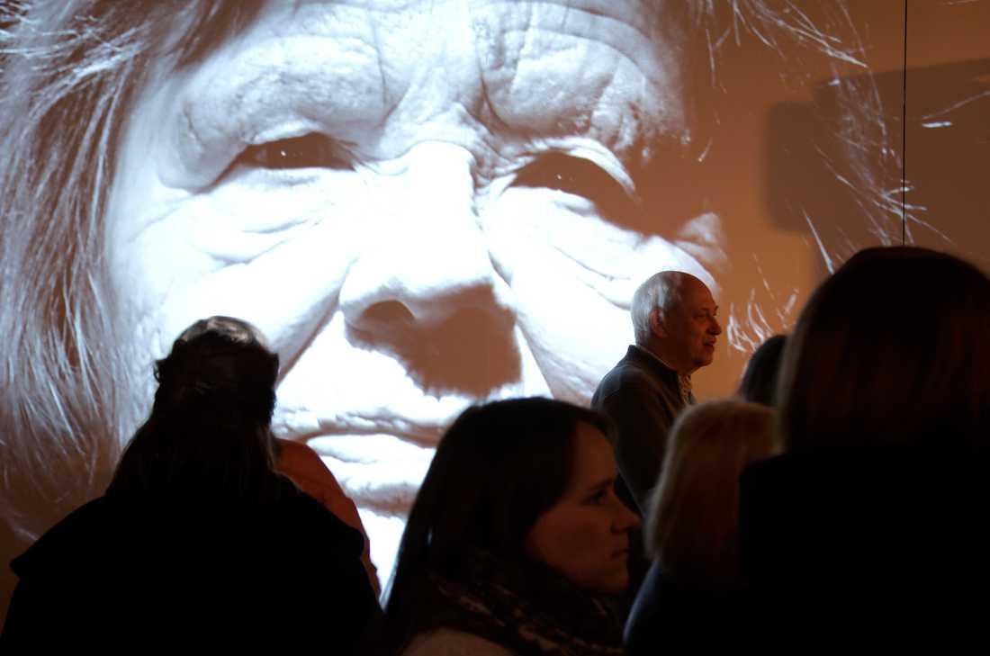 På bottenplanet huserar kvinnohistorisk museum med en utsällning om tanter. Foto: Po Tidholm