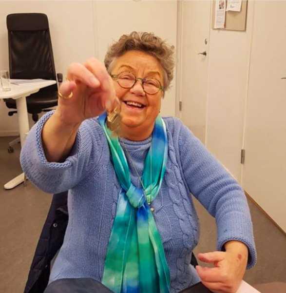 Bara en dryg månad innan hon dog kunde Agnetha Söderhjelm glatt skramla med nycklarna till Möjligheternas kvinnors egna lokal på Malmvägen i Sollentuna, något hon hade kämpat hårt för.
