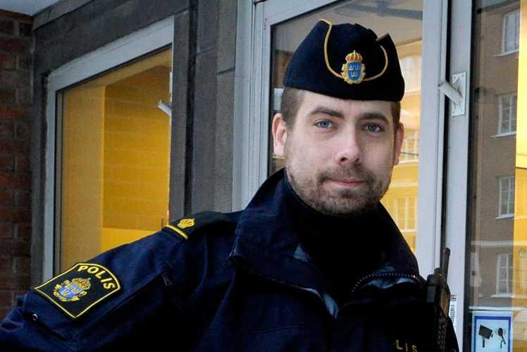 Johan Svanestrand, huvudskyddsombud för Citypolisen i Stockholm.