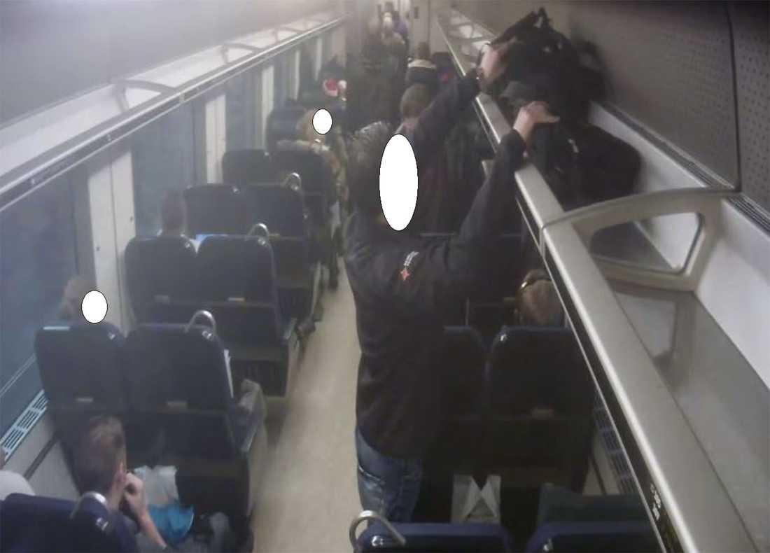 Så stjäl fräcka tåg tjuvarna din väska | Aftonbladet
