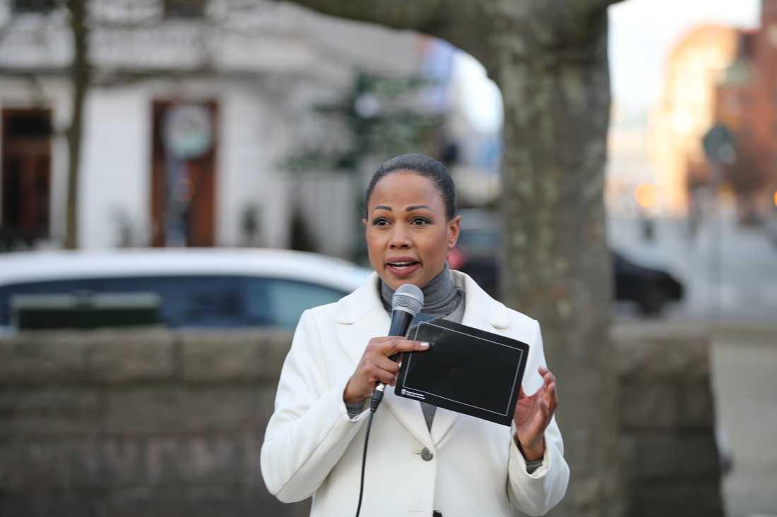 Kultur- och demokratiminister Alice Bah Kuhnke (MP)