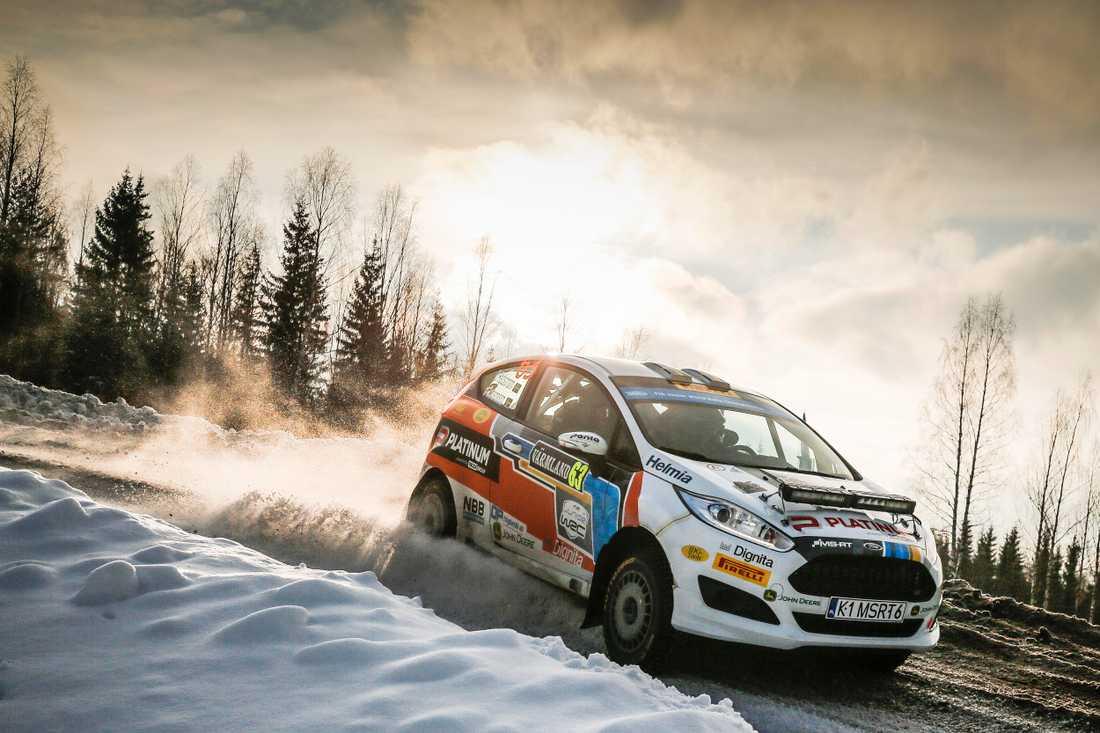 Dennis Rådström vann Rally Sweden - leder VM
