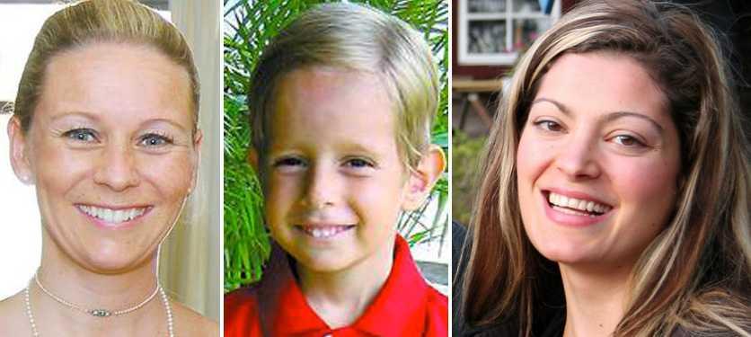 Svenska Christine Badre Schnabl, 34 hennes son Philippe, 5 var tillsammans med Laura Rahal, 27 med på planet som störtade över Atlanten 2009.