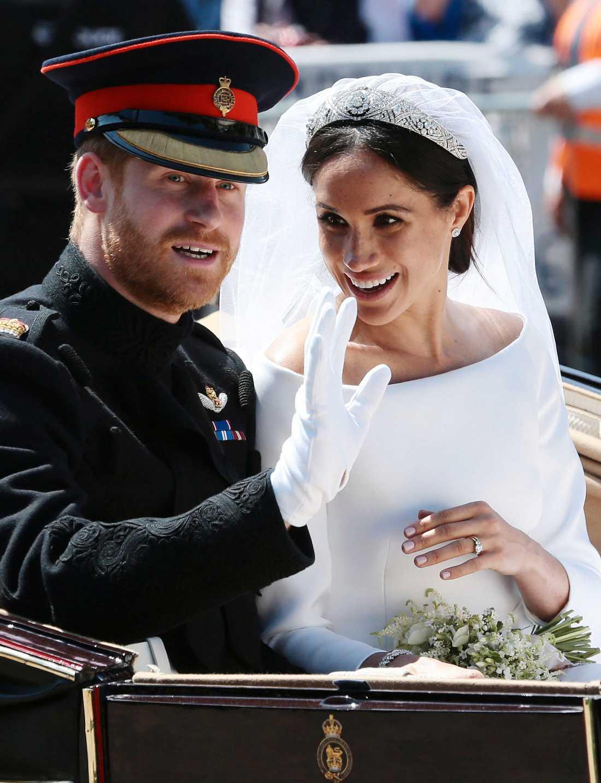 Meghan Markle och prins Harry har fått en son