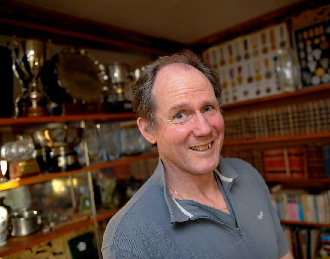 """Före detta stavhopparen Kjell Isaksson är äldsta deltagaren i """"Mästarnas mästare"""" hittills. Arkivbild."""