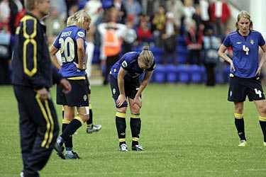 Deppigt. Sverige deppar efter 2–3-förlusten mot Norge i kväll.