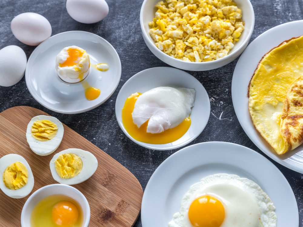 Ägg kan lagas till på mängder av olika sätt.