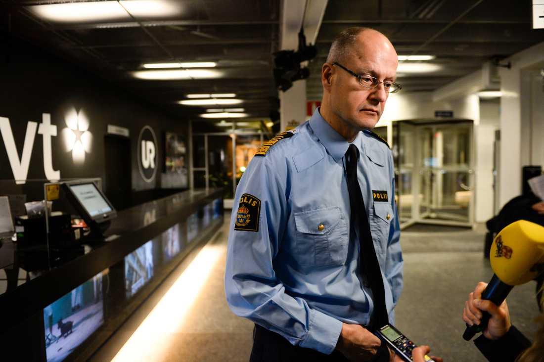 Mats Löfving, chef för Polisens nationella operativa avdelning. Arkivbild.