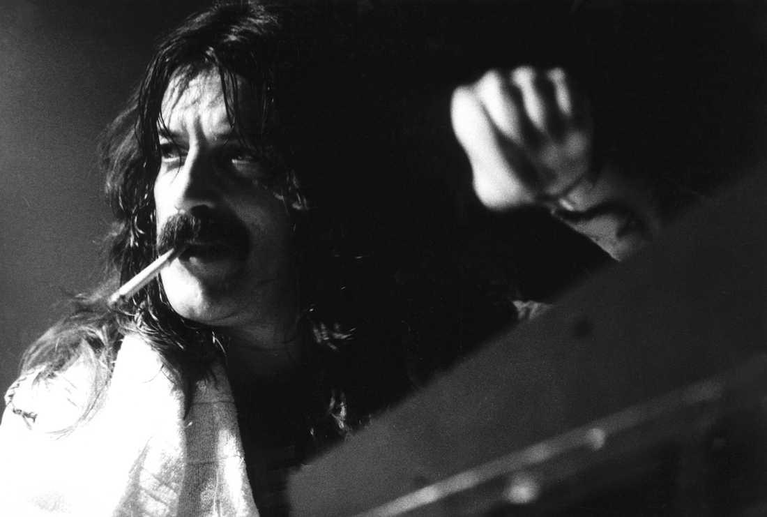 På scenen, London 1974.