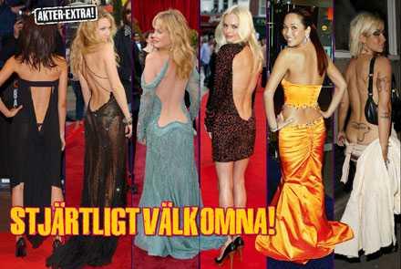 Thandie Newton, Kate Hudson, Melanie Griffith, Kate Bosworth, Myleene Klass, Jodie Marsh.