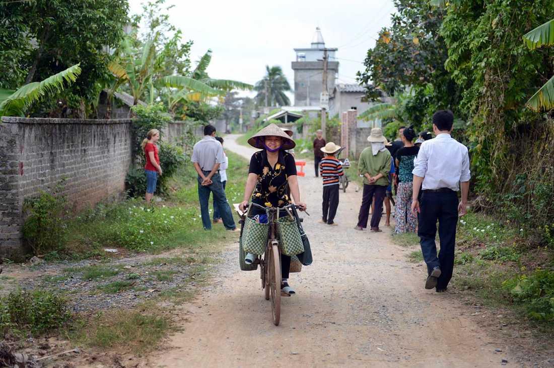 Trungs familj bor i Thanh Giang i Hai Duong-provinsen, två timmar från Hanoi.