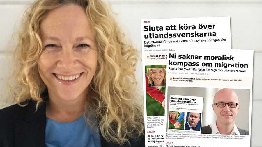 Svenskar i världen vill säkerställa att utlandssvenskarnas behov och perspektiv beaktas. Det innebär inte att andra grupper utesluts från att få sina argument lyssnade till. Slutreplik från Cecilia Borglin.