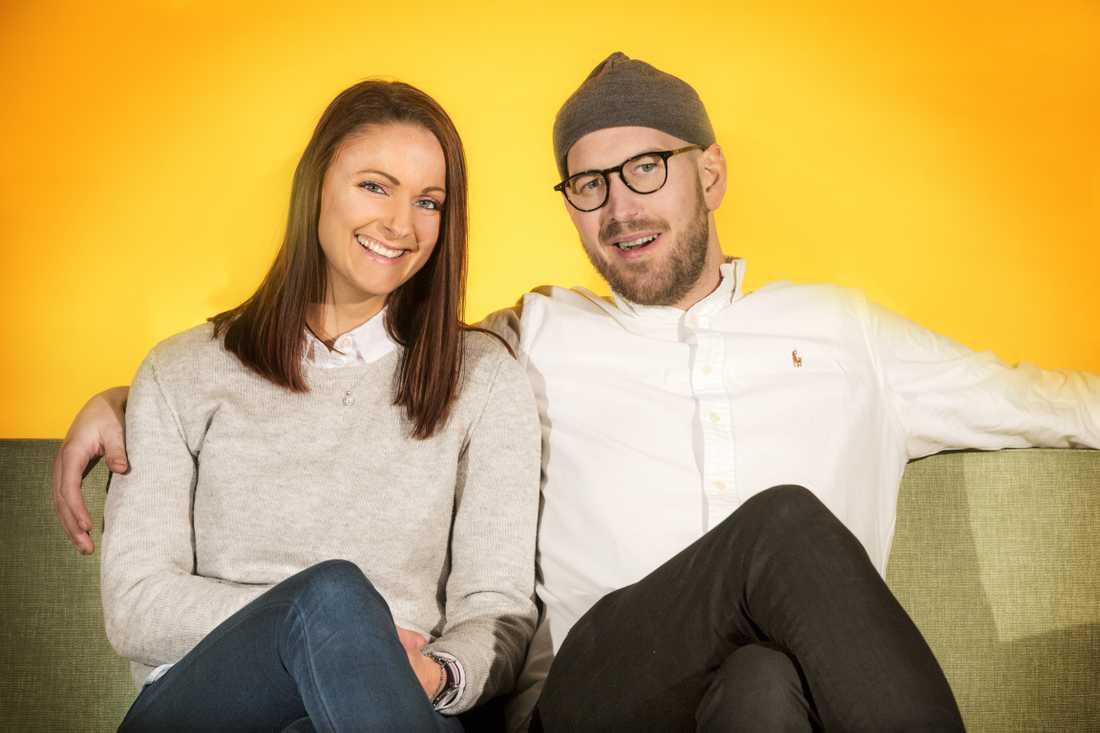 Sofia Lundblad och Magnus Bergquist har skilt sig.