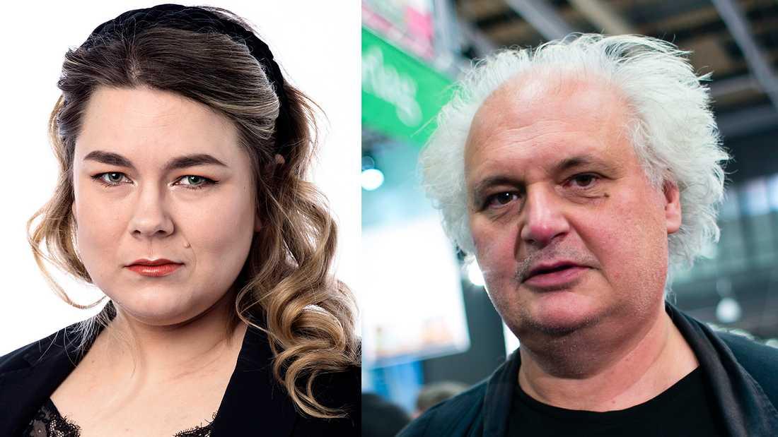 Lotta Ilona Häyrynen kritiserade Göran Greiders idéer om postmodernismen i en artikel i förra veckan. Nu svarar Greider, och får svar direkt.