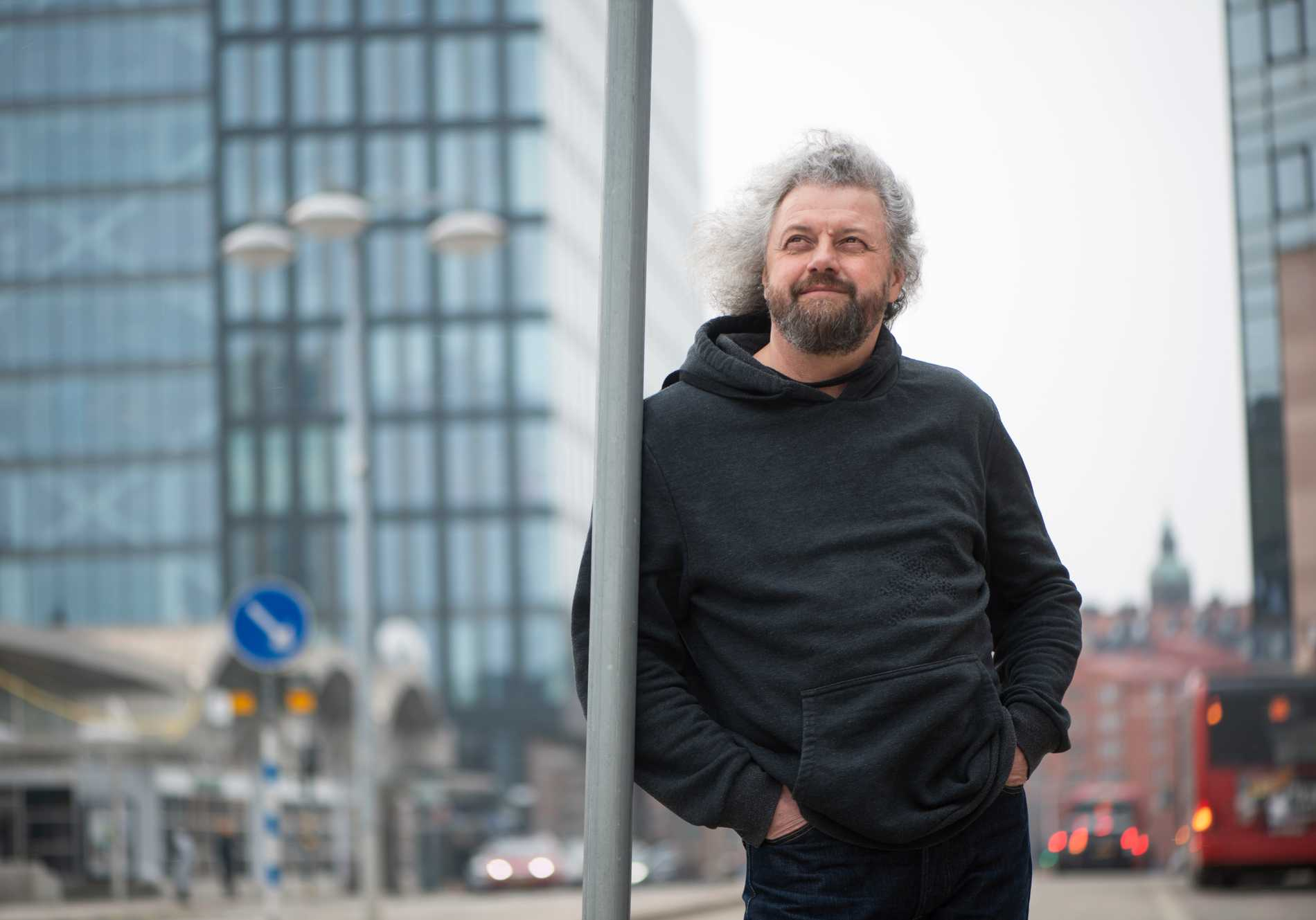 Dmitrij Strotsev på besök i Sverige i mars.