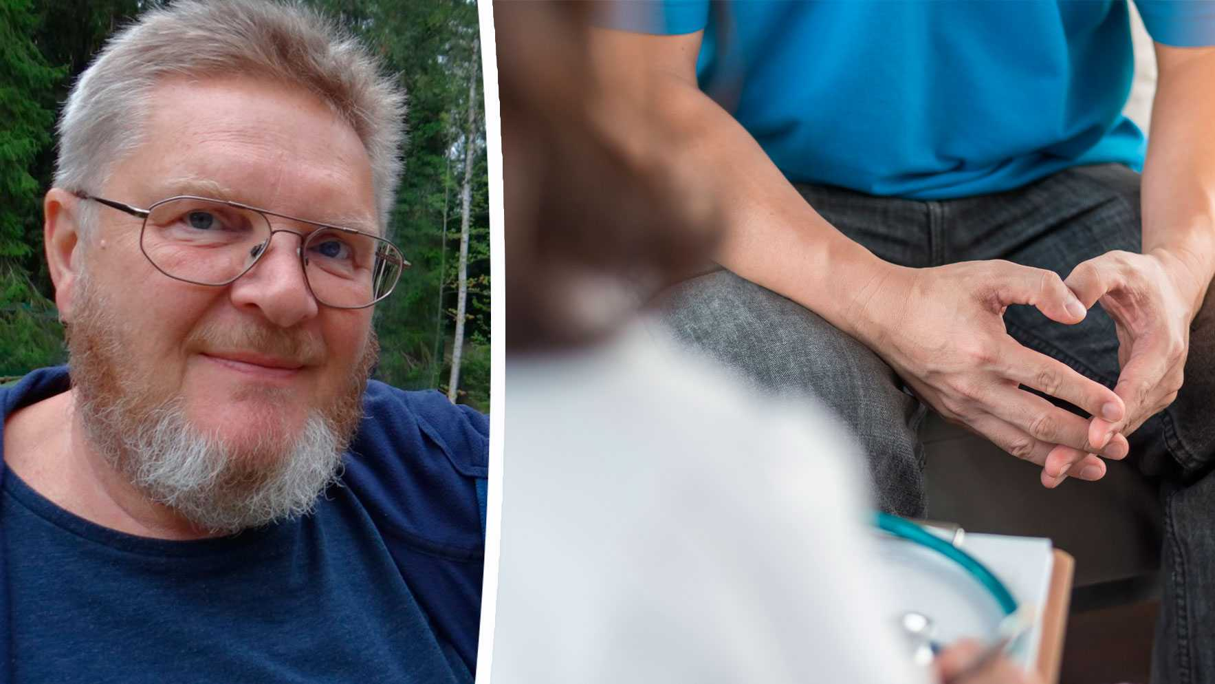 Andra gången som Benny Bengtsson sökte läkarvård för sina symtom togs ett PSA-prov. Det visade på höga värden och samma år opererades han. Prostatacancern är sprid i Bennys kropp och därför får han bromsmediciner.
