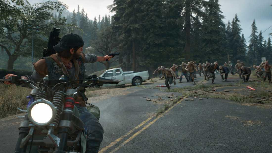 """Sony Bend ville göra en uppföljare till """"Days gone"""", men Sony uppges ha sagt nej. Pressbild."""