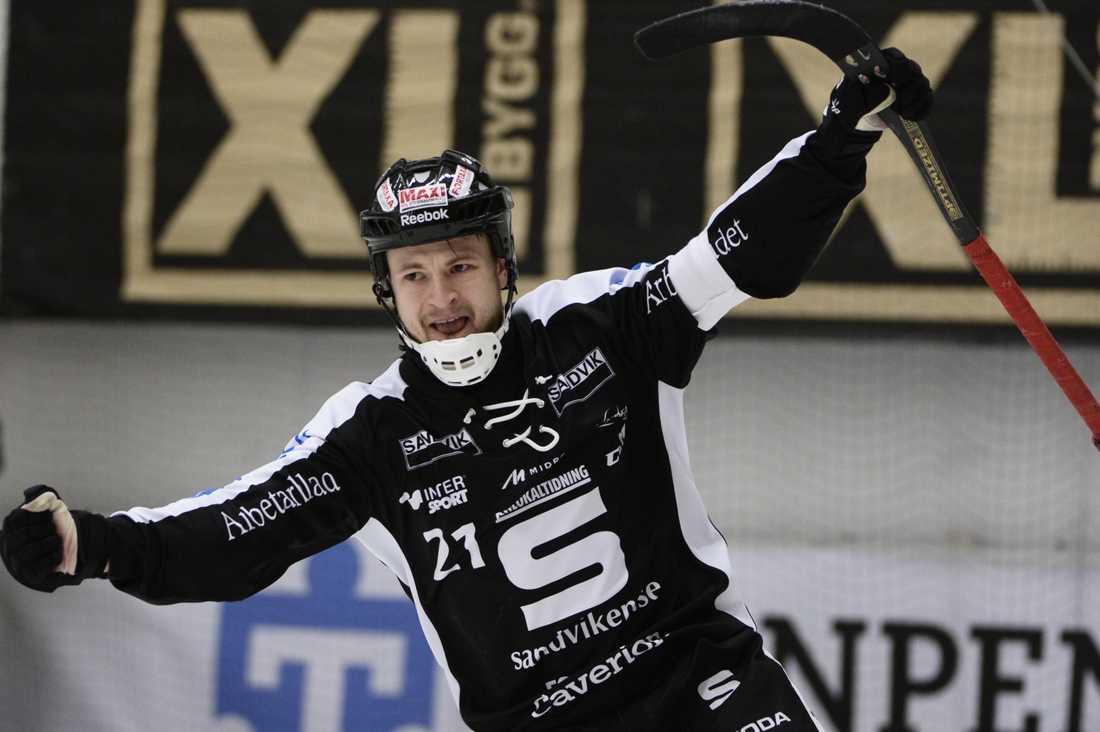 Christoffer Edlund, lagkapten och skyttekung.
