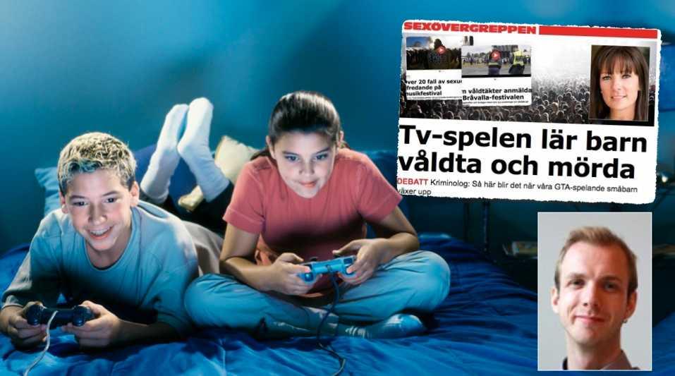 Man blir inte våldsam av att spela tv-spel. Lika lite som videovåldet gjorde oss våldsamma eller rollspelen gjorde oss till satanister, skriver Alexander Hallberg,  förbundsordförande i Sverok i en replik till Maria Dufva.