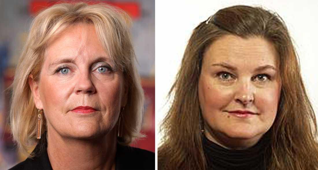 Gunvor Engström och Mikaela Valtersson, Friskolornas Riksförbund