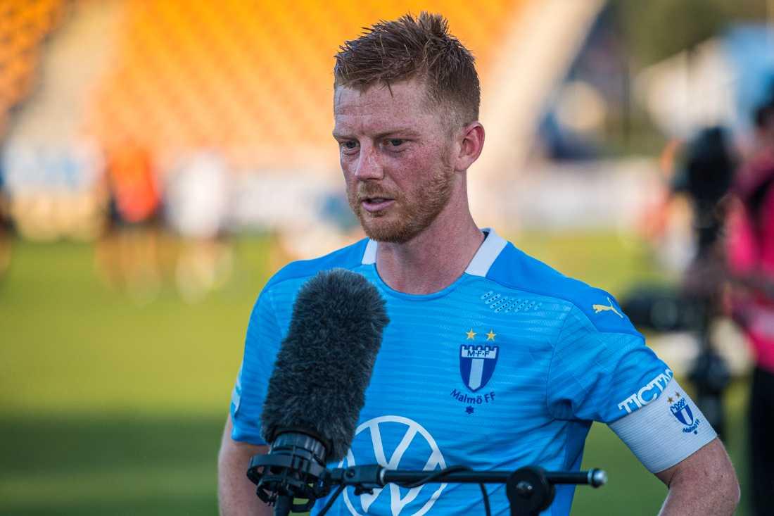 Anders Christiansen räddade en poäng för Malmö FF.