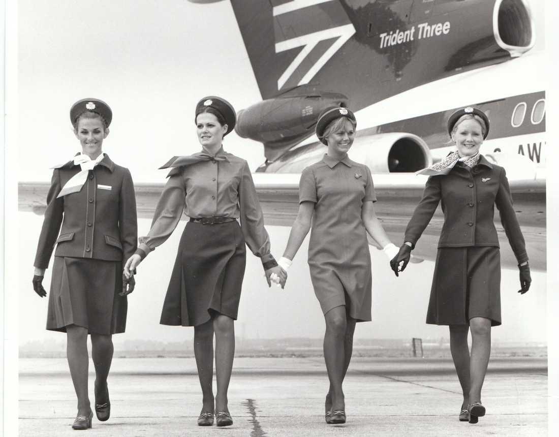 Hardy Aimes designade flera uniformer under åren 1967 till 1974, bland annat denna från 1972.
