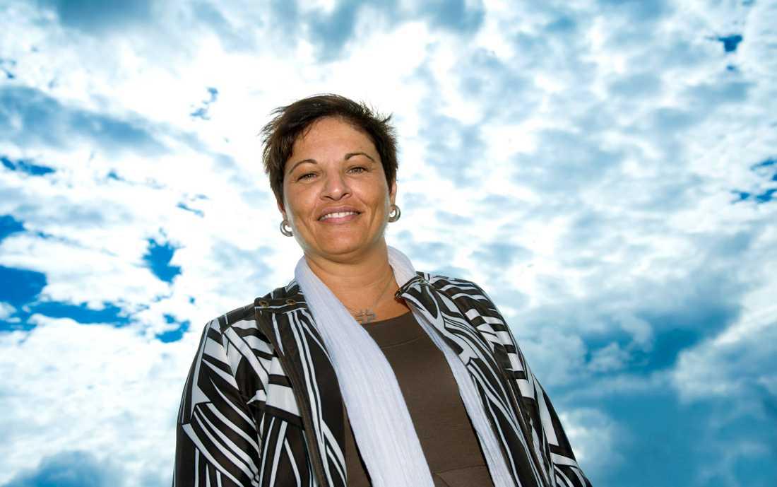 Sineva Ribeiro, ordförande i Vårdförbundet. Arkivbild.