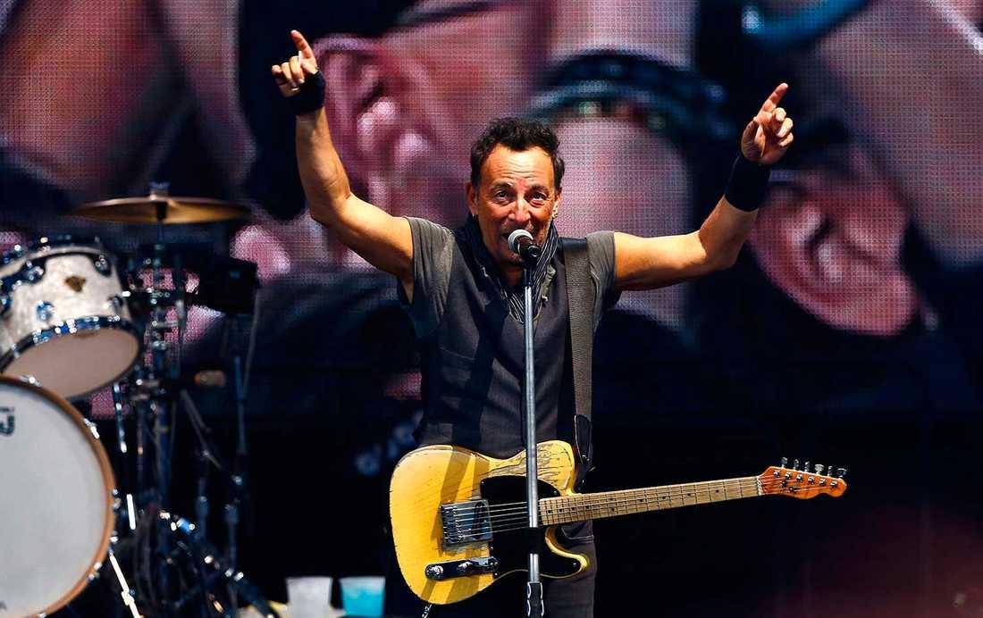 Bruce Springsteen i Barcelona.