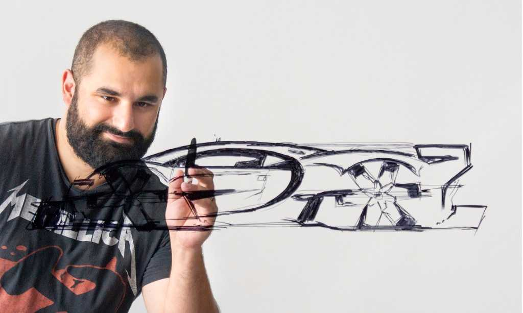 Sasha Selipanov är designern som ligger bakom grunddragen till nya Chiron.