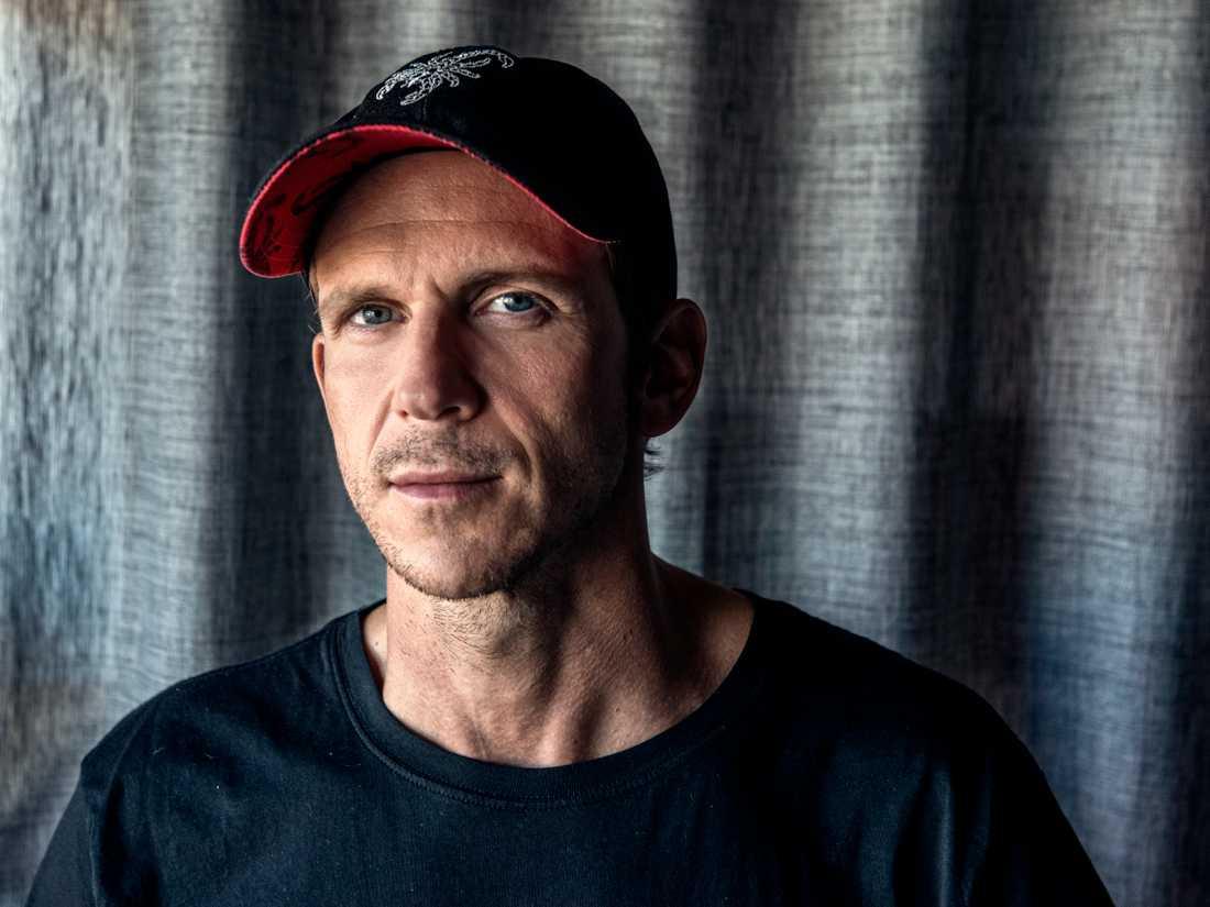 """Gustaf Skarsgård spelar in nya """"Utvandrarna""""-filmen."""