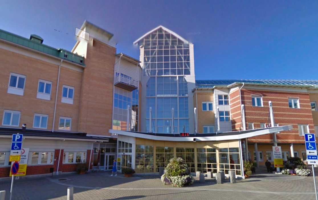 Sunderby sjukhus.