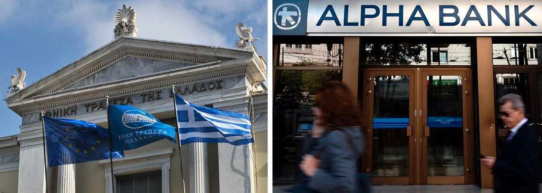 Grekerna tror inte på en lycklig lösning av sin kris.