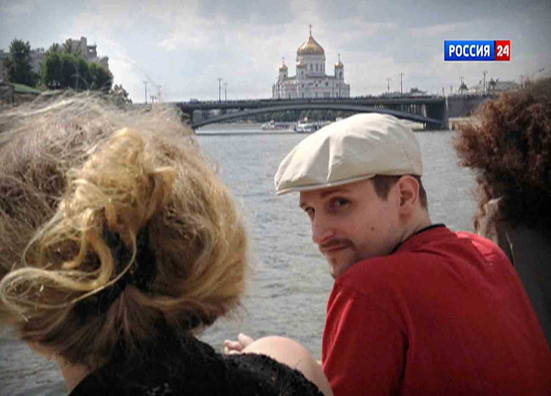 Snowden befinner sig nu i Ryssland.