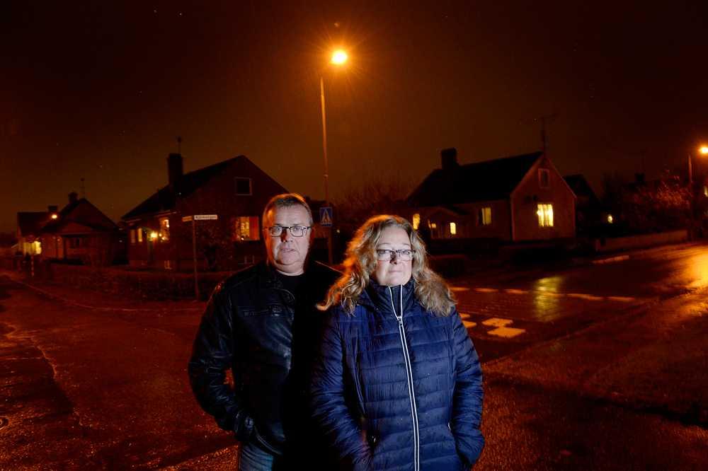 """Tommy Andersson och Suzane Christoferson bildade """"Trygga vår landsbygd"""" efter domen mot medborgargardet. Gruppen har nu över 700 medlemmar. """"Domen var droppen som fick bägaren att rinna över"""", säger Suzane."""