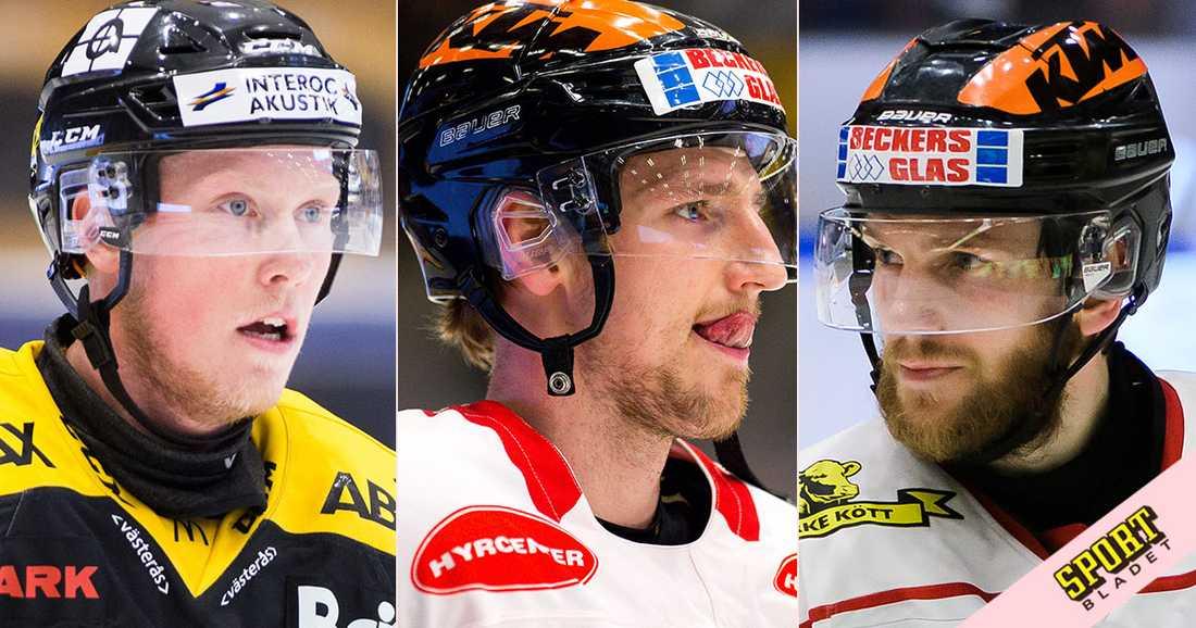 Kalle Östman, Anton Hedman och Tom Wandell klara för Djurgården.