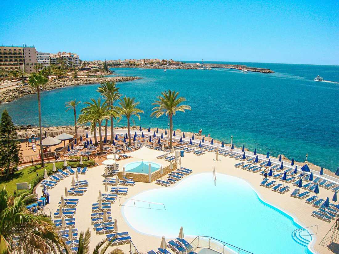 Olyckan inträffade vid hotellet Sunwing Arguineguín på Gran Canaria.
