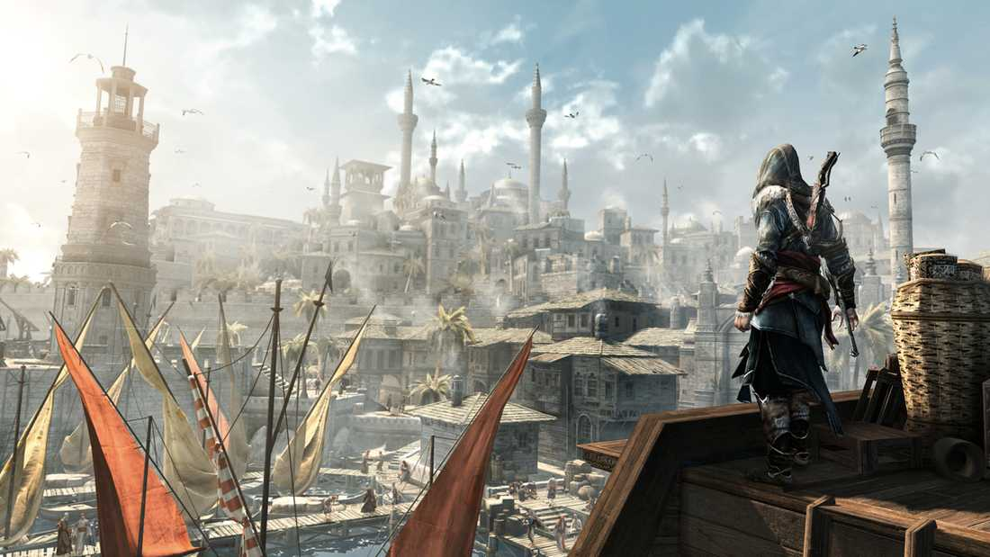 "Konstantinopel i ""Assassin's creed: Revelations""."