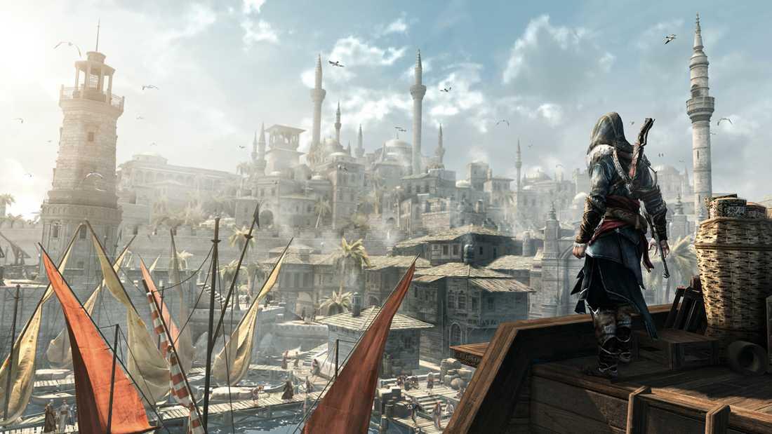 """Konstantinopel i """"Assassin's creed: Revelations""""."""