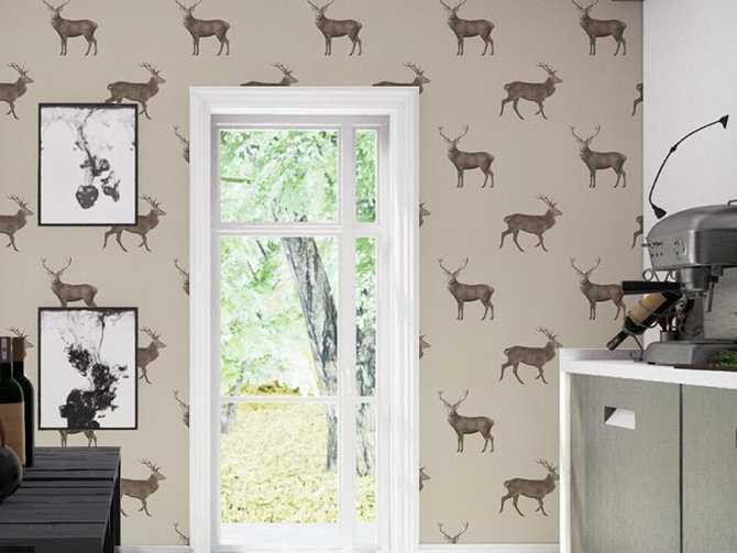Tapet Evesham deer, 1080 kr/rulle, Sanderson.