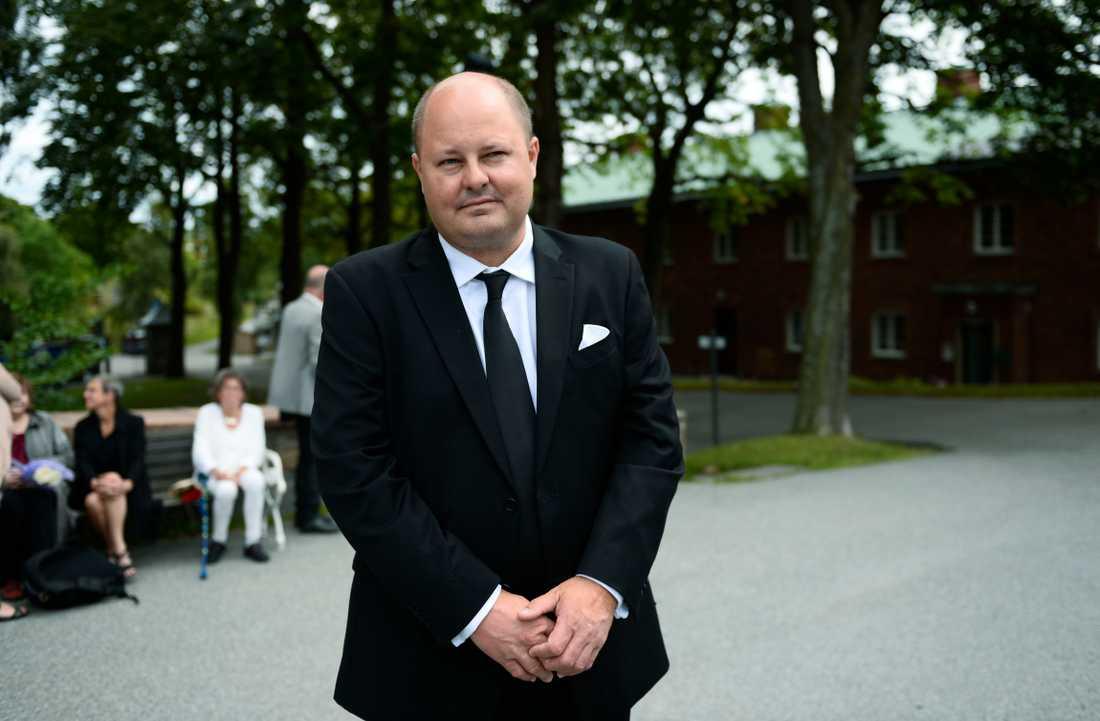 Thomas Mattsson, chefredaktör på Expressen.