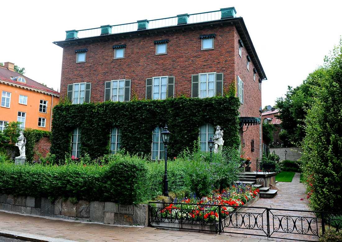 Villa Bonnier på Nobelgatan på Djurgården.