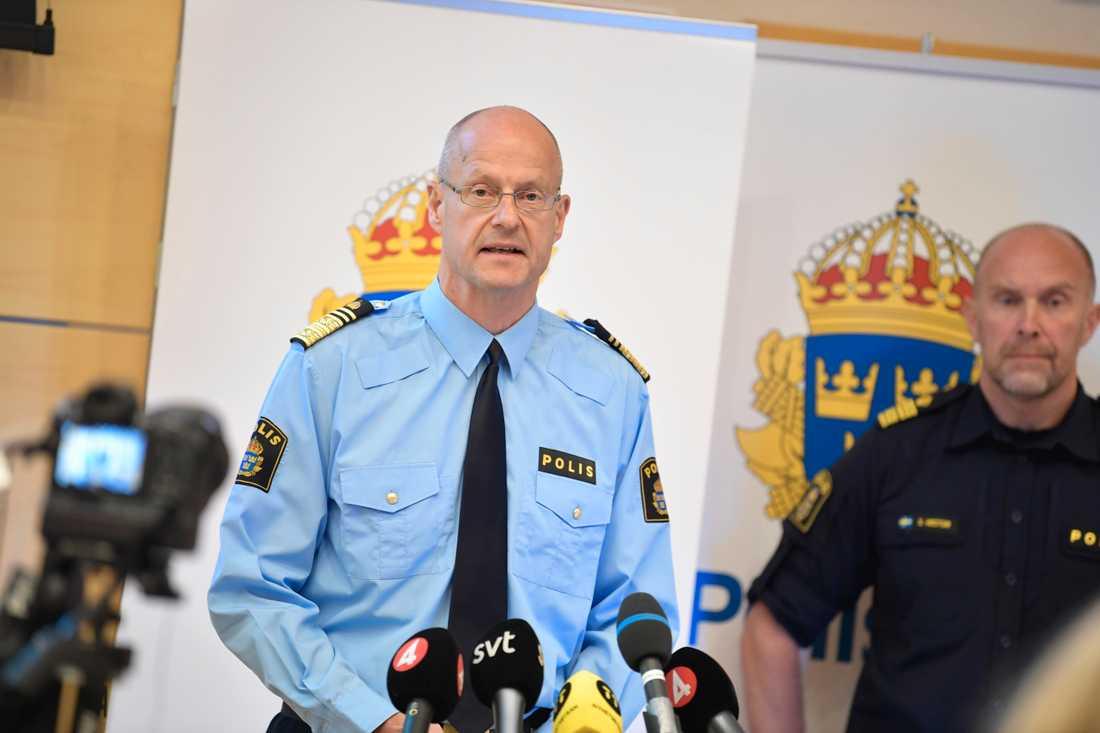 Mats Löfving blir regionpolischef i Stockholm och Gotland, men fortsätter som ställföreträdande rikspolischef. Arkivbild.