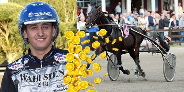 Nicklas Westerholm och On Track He's Black och Havbergs Knight med Fredrik B Larsson är två av miljondragen.